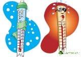 Голямата температурна амплитуда прави по-тежък инсулта