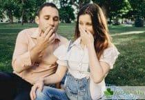 Пушене на бъдещия татко у дома - вредно за нероденото дете