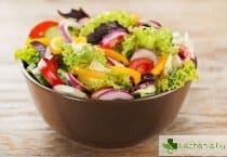 Суровите зеленчуци унищожават полезните чревни бактерии