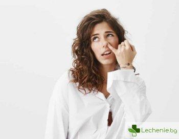 Защо е опасно бъркането в носа по времето на пандемията