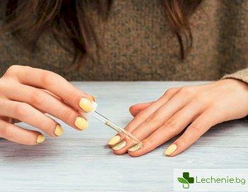 Какви етерични масла помагат за заздравяване на ноктите