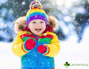 Грижа за детската кожа през зимата