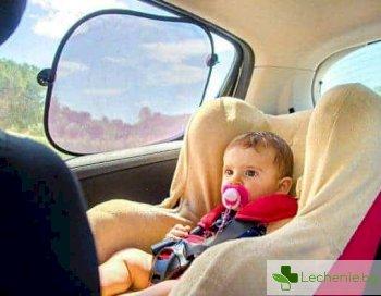 Нагорещен от слънцето автомобил - смъртоносен за деца и опасен за здравето на възрастните