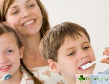 Как да научим детето да си мие зъбите?