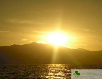 Какви са ползите от излагане на слънце?