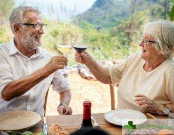 Алкохол в напреднала възраст - ускорява стареенето