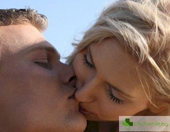 Всяка целувка започва с 80 милиона микроби