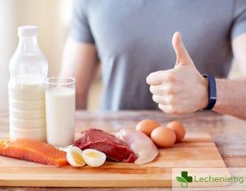 С месо и яйца мъжете могат да се спасят от старческо слабоумие