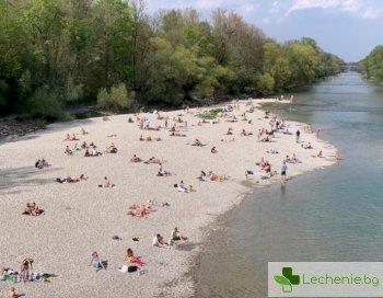 Германия всички на плаж, а и у нас арестуват заради пикник