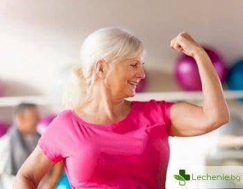 Повече мускули - как да спрем остаряването на тялото