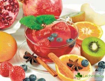 Плодовете и чай ни пазят от рак и от опасни болести на сърцето