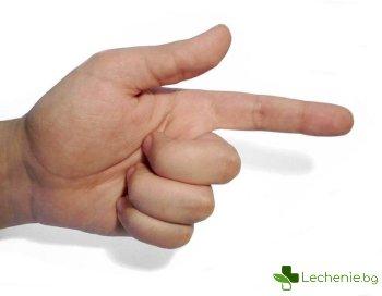 Доказаха връзка между размера на пениса и дължината на пръстите