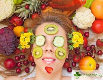 Храни, които е неправилно да се нанасят на кожата