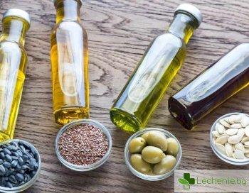 Растителни масла - омега-9 мастни киселини