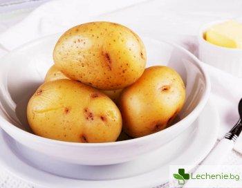 Открит е уникален ефект от яденето на варени картофи
