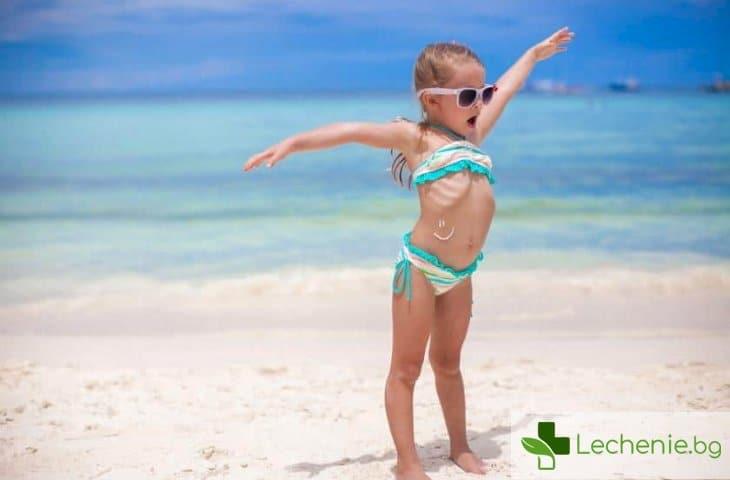 От колко години момичетата трябва да слагат бански, когато са на плажа