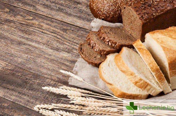 Неочаквано - доказаха, че от бял хляб не се пълнее повече, отколкото от черен