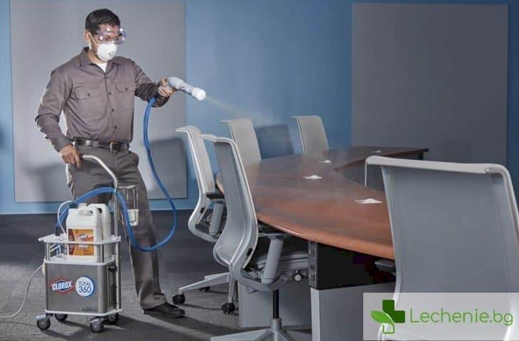 При пандемия - как да не се заразяваме в офиса
