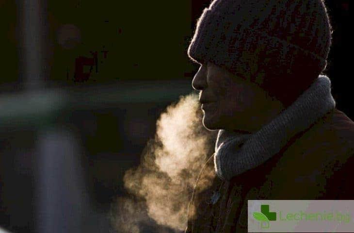 4 проблема с дишането в студеното време