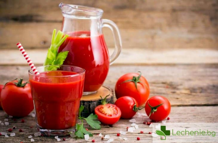 Доматен сок спомага за сваляне на кръвното
