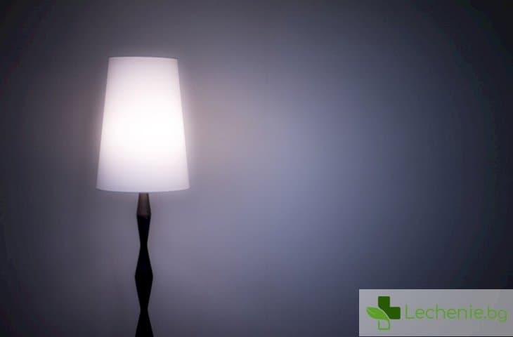 Как светлината през нощта може да навреди на здравето