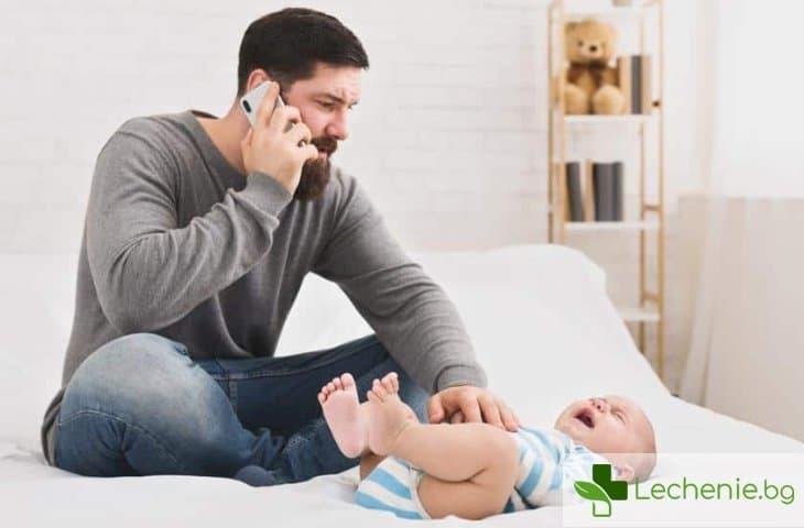 Тръбичка за газове при бебета – помага ли наистина при колики