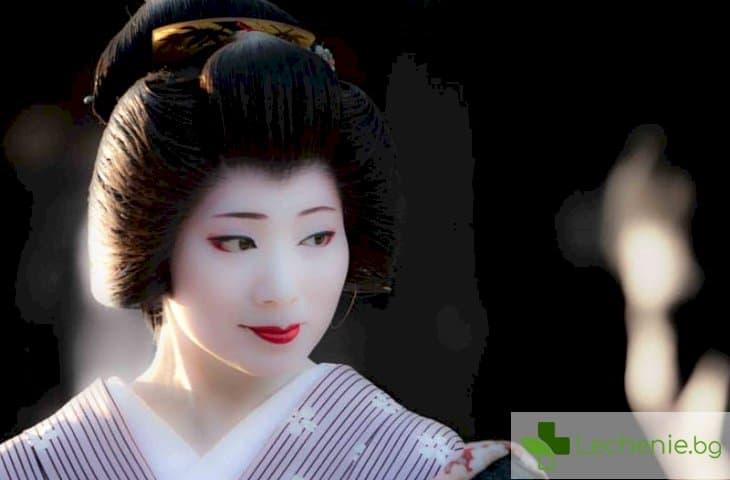 Тайната за красива кожа на гейшите