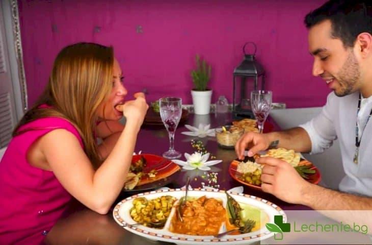 Яденето много по-вкусно, когато е с ръце, а не с прибори
