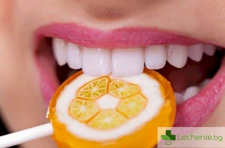 Бонбони против бактерии провокатори на кариес