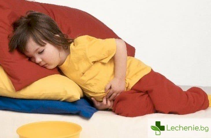 Абдоминална болка при децата