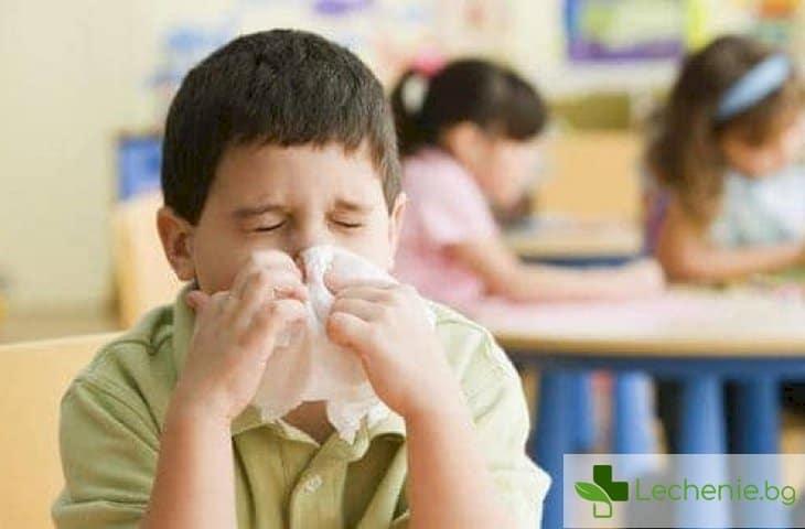 Как да предпазите детето от алергии в училище