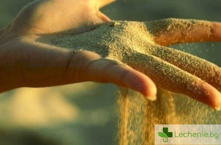 С какво е опасен пясъкът в бъбреците