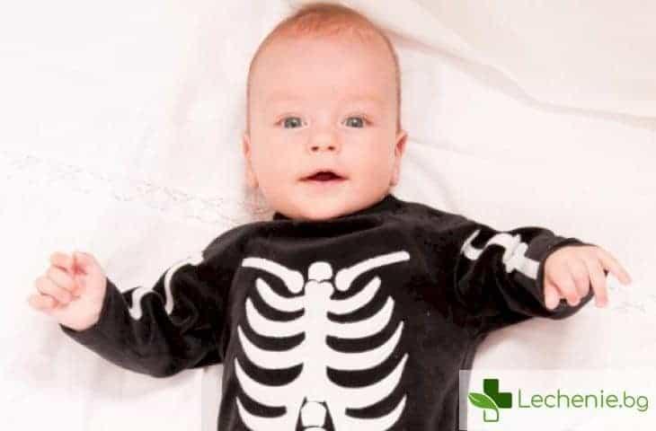 Развлекателна анатомия - как се формират детските кости и зъби