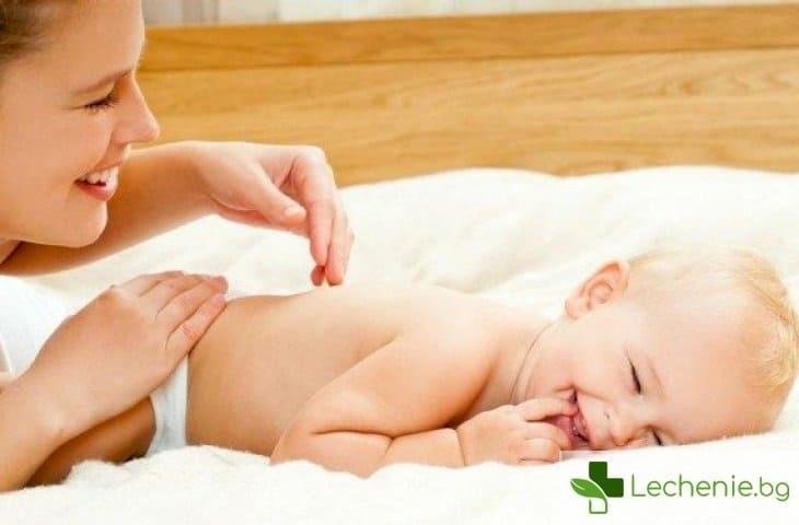 Защо на бебетата им е необходима гимнастика