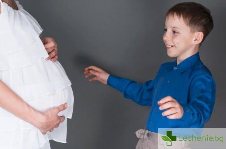3 правила как да подготвите детето за появата на братче или сестричка
