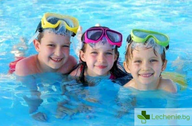 Как да предпазим децата от водни инфекции