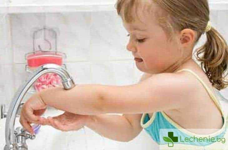 Защо е толкова важно да научим децата да си мият ръцете преди хранене