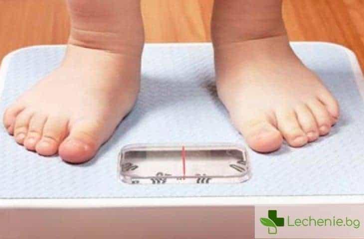 Затлъстяването в ранна детска възраст е свързано с приема на антибиотици