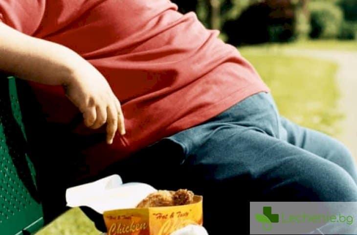 Затлъстяване на дядото заплашва внуците с диабет