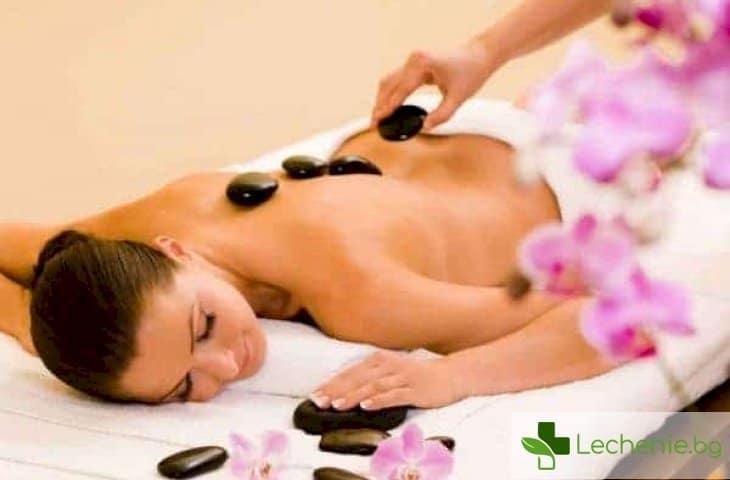 Какви са ползите за здравето от масажа с горещи камъни