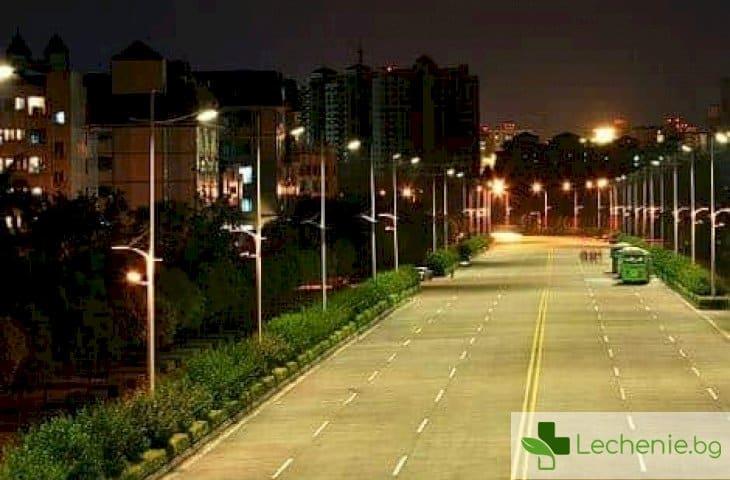Ето как нощното осветление в градовете съсипва съня