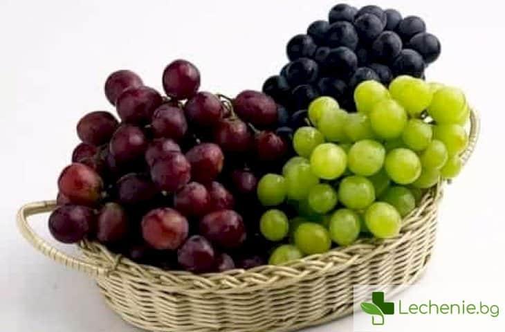 С какво е полезно гроздето за мъжете