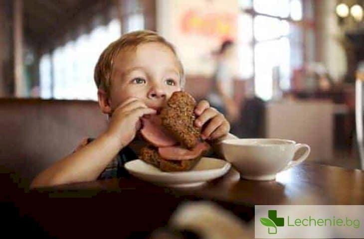 Недетска храна - 10 храни, забранени в предучилищна възраст