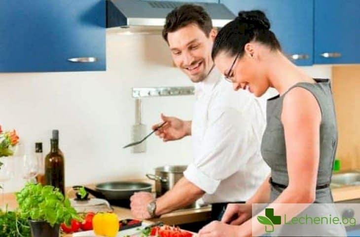 Хранене според пола - това което е полезно за жените, е вредно за мъжете