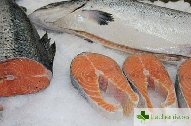 Рибата съдържа вещества, които буквално унищожават имунната ни система