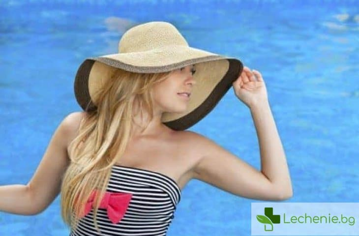 Слънчево изгаряне на лицето - как да го избегнете