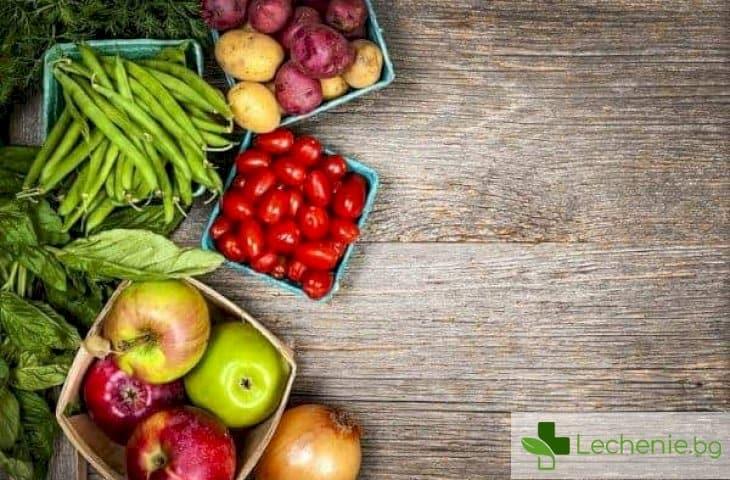 Топ 5 храни с минимално съдържание на калории