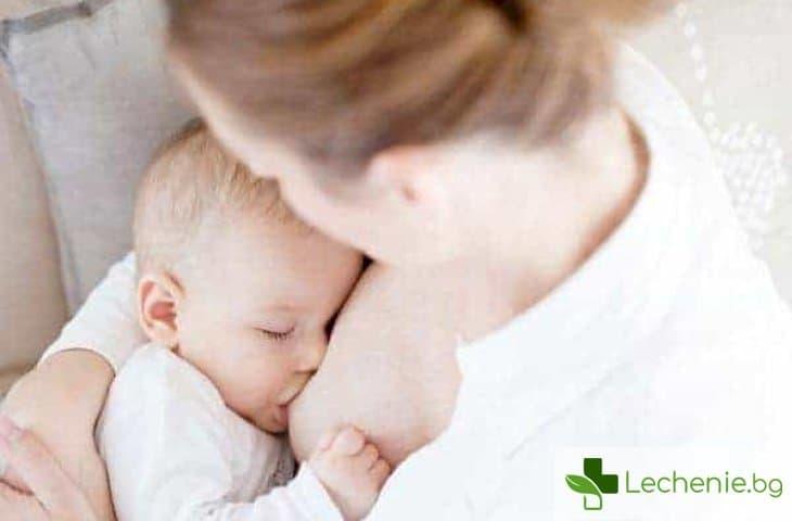 Нощно кърмене - полза за лактацията и за детето