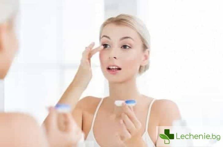 Алергия към контактни лещи - причини и проявления