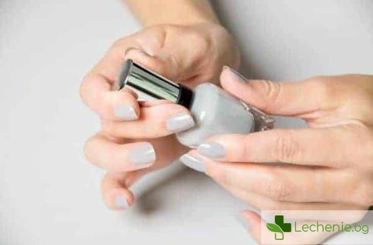 Топ 5 токсични вещества, които НЕ трябва да се съдържат в лака за нокти